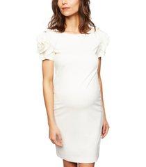 pietro brunelli maternity ruffled shift dress
