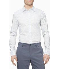 men's barcode button down shirt