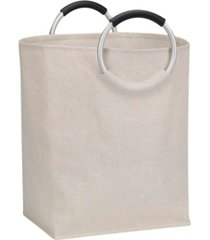 household essentials laundry tote with handles