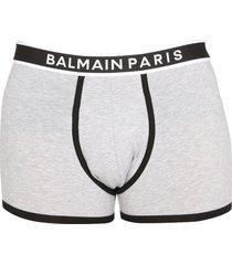 balmain boxers with logoed elastic