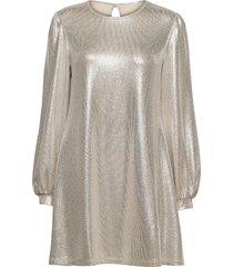 mirabelle dress knälång klänning silver ida sjöstedt