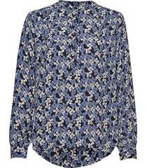 betty shirt långärmad skjorta blå nué notes