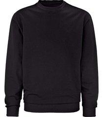 sweatshirt men plus zwart