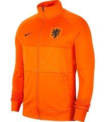 nike nederlands elftal i96 anthem jacket orange