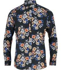 skjorta jprcaleb print shirt l/s plain