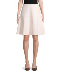 tommy hilfiger women's pryn a-line skirt - powder - size 8