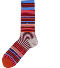 burlington socks multi stripe socks 21057-8006