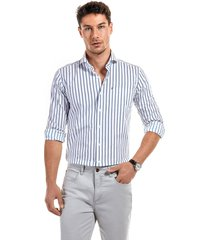 camisa austria azul new man