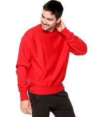 buso rojo preppy sudadera ml c/r champion