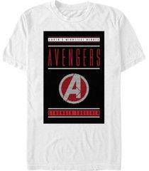 marvel men's avengers earths mightiest heroes short sleeve t-shirt