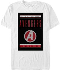 marvel men's avengers earths mightiest heroes short sleeve t-shirt