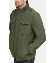 cole haan men's water-resistant packable field jacket