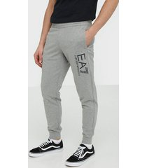 ea7 emporio armani train visibility m pants ch coft byxor medium grey melange