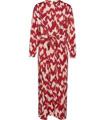 dress abigail maxiklänning festklänning röd lindex