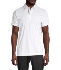 j. lindeberg men's pine slim-fit golf shirt - navy - size xl