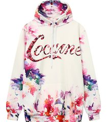 women hoodie 2017 3d print hooded sweatshirt casual plus size pullover size m,l