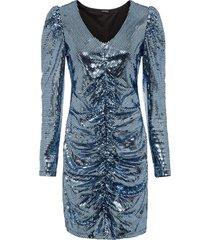abito di paillettes (blu) - bodyflirt