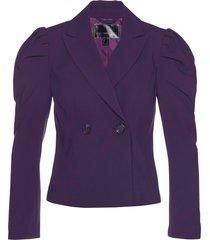 blazer corto con maniche a palloncino (viola) - bpc selection