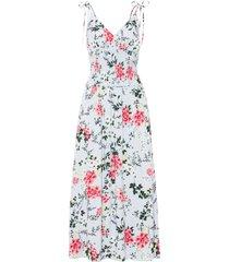 abito lungo in viscosa sostenibile (viola) - bodyflirt boutique