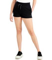 guess drawstring sweat shorts