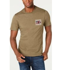 barbour international steve mcqueen men's flag t-shirt, created for macy's