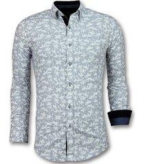 overhemd lange mouw tony backer blouse bloemmotief