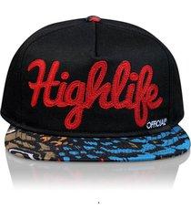 gorra negra official highlife tefarian