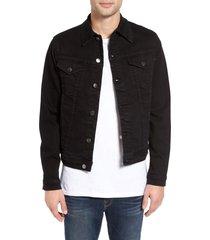 men's frame l'homme jacket, size large - black
