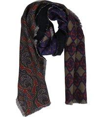 franco ferrari floral scarf
