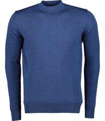 nils pullover - slim fit - blauw