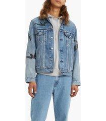 levi's men's vintage-like fit trucker jean jacket