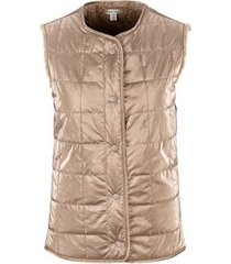tribal women's sherpa reversible vest