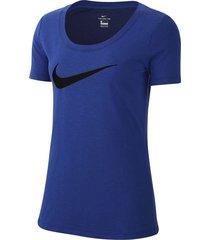camiseta azul  nike dri-fit bq4692-455