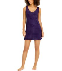 alfani ultra-soft sleeveless nightgown, created for macy's