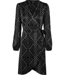 omlottklänning vmgamma l/s wrap dress