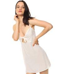vestido beige vespertine