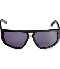 dsquared2 women's 62mm oversized sunglasses - black