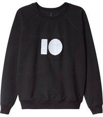 10 days sweatshirt 20-802 zwart
