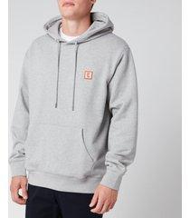 wooyoungmi men's pullover hoodie - grey - 50/l
