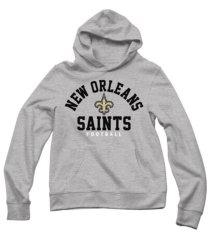 authentic apparel men's new orleans saints established hoodie