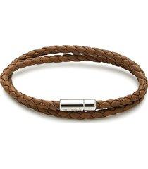 tateossian men's braided rope bracelet