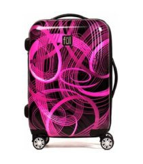 "ful atomic 20"" expandable spinner rolling luggage suitcase"