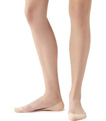 calzedonia women's side cut invisible socks woman ivory size 37-39