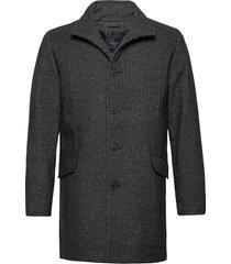 slhmorrison wool coat b wollen jas lange jas grijs selected homme