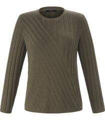 trui met lange mouwen van emilia lay groen