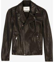 biker jacket black 56