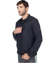 jaqueta corta-vento oxer - masculina - preto