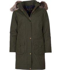 barbour lynn waterproof hooded parka coat