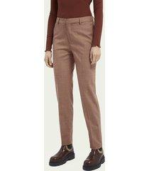 scotch & soda lowry slim fit pantalon - sienna melange