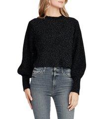 women's joe's edith crewneck sweater, size x-small - black